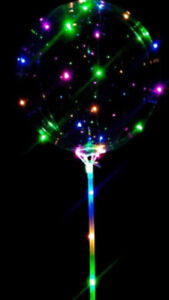 LED  balloon battery operated reusable