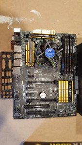i5 4690k with mobo, ram and power supply