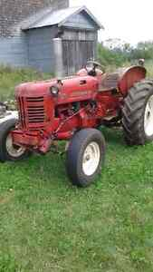 1958 International Tractor- great for snow removal
