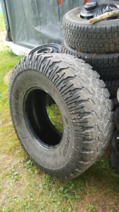 "One 37"" spare tire"