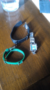 Nixon watch with 2 extra bands
