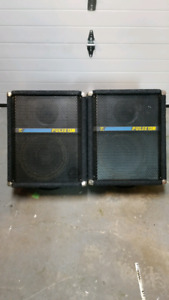 "Yorkville floor monitor Pulse 12 pair.  150W  12""/1"""