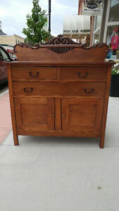 ***ANTIQUE WOODEN SIDEBOARD FOR SALE***