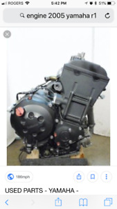 Wanted motor for 2005 Yamaha r 1