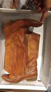 Size 7 quality thick  leather Aldo western style boot  Kitchener / Waterloo Kitchener Area image 1