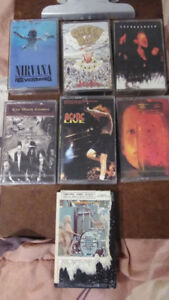 Cassettes - Prices vary