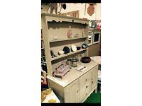 Revamped vintage Welsh dresser