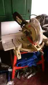 PORTER CABLE COMPOUND MITER SAW LASER