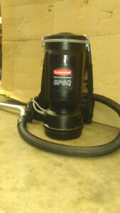 Commercial Back Pack Vacuum. 120 Volt . Powerful and Lightweight