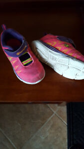 Toddler girl size 8 running shoes