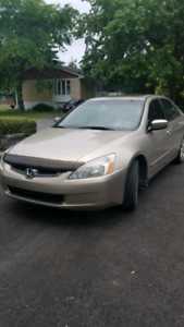 2003 Honda Accord EX-L V6 250 HP CUIR TOIT AUTOMATIQUE