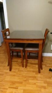 PUB Height table with 2 chairs (Ashley) $225
