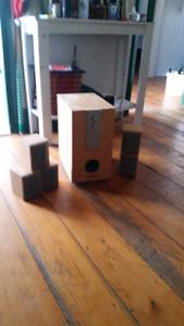 X Logic mini surround sound
