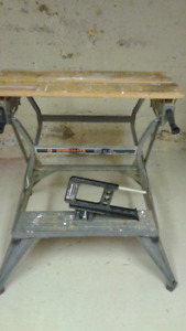 Black & Decker Workmate and accessory