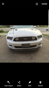 13-14 mustang roush front lip