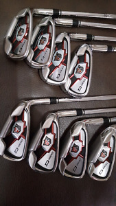 Wilson Staff D200 irons set, 4-Gw , mint