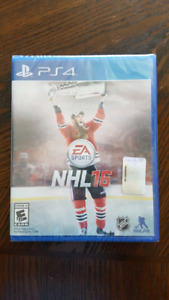 NEW - NHL '16 (PS4) Never opened.