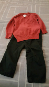 Toddler Boy Holiday Outfit