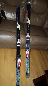 Kastle Cross country skis and poles good condition