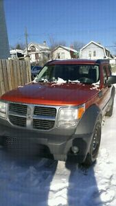 2007 Dodge Nitro SXT 4x4, safetied