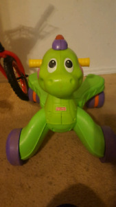 Fisher price ride and stride dino