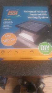 Two solar powered roof vent kits Brand New In The Box Still