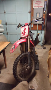 Reward! Stolen. 1999 CR250. Ownership #JH2ME0322XM100255