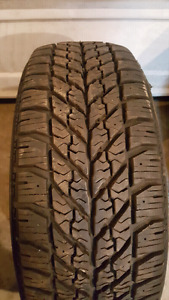1 - like new goodyear snow tire 205 55 R16