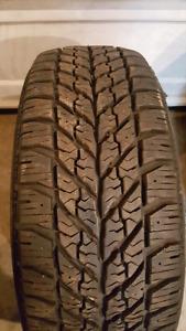 1 - like new goodyear snow tire 205 55 R16