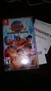 STREET FIGHTER 30TH ANNIVERSARY COLLECTION NINTENDO SWITCH!!