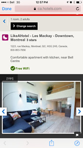 LikeAHotel - les Mackay - downtown Montreal