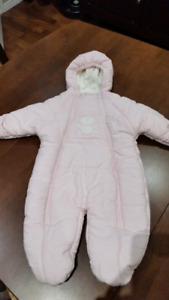 Baby coat - pink for  18 pounds or 6 months