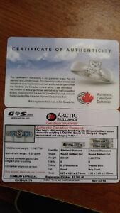 Diamond Engagement Ring Edmonton Edmonton Area image 3