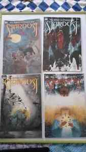 Stardust by Neil Gaiman and Charles Vess comic issues #1-#4