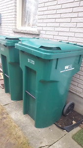 Wheeled Recycling Bins