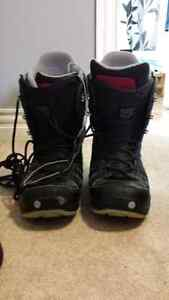 Selling Size 12 snowboard boots-well worn. 20.00
