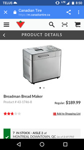 Bread man bread machine