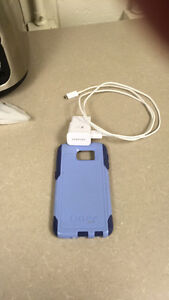 Samsung Galaxy 6 otter box and charger