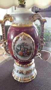 Hand painted George & Martha Washington Porcelain Lamp Kingston Kingston Area image 2