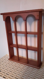 Solid wood 3 level wall shelf excellent  condition