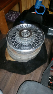 1984 Chrysler New Yorker hub caps