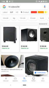 Looking for home theater subwoofer