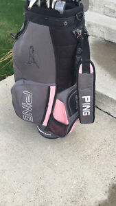 Junior golf clubs & bag!