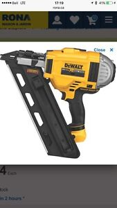 Dewalt brushless  framing nailer