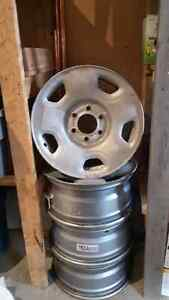 Used 17 inch steel rims for Ford F-150