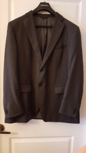 Men's Banana Republic Charcoal Blazer - Size 46 R