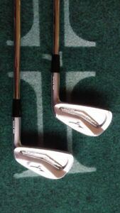 Mizuno mp25 irons (mint condition)