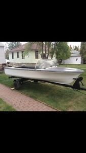 14 foot boat and motor for sale