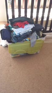 Huge lot of baby boy clothes. 3-6, 6-12, 9, + 12-18 month