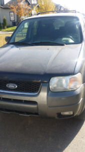 2004 Ford Escape XLT SUV, Crossover 4WD-MECHANICS SPECIAL